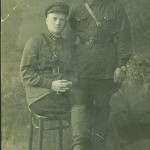 Сумарев Павел Егорович (справа)